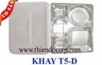 KHAY INOX 5 NGĂN D/ KHAY CƠM PHẦN 5 NGĂN http://bepchuyennghiep.com/khay-inox-5-ngan-d-khay-com-phan-5-ngan-1-1-1119791.html