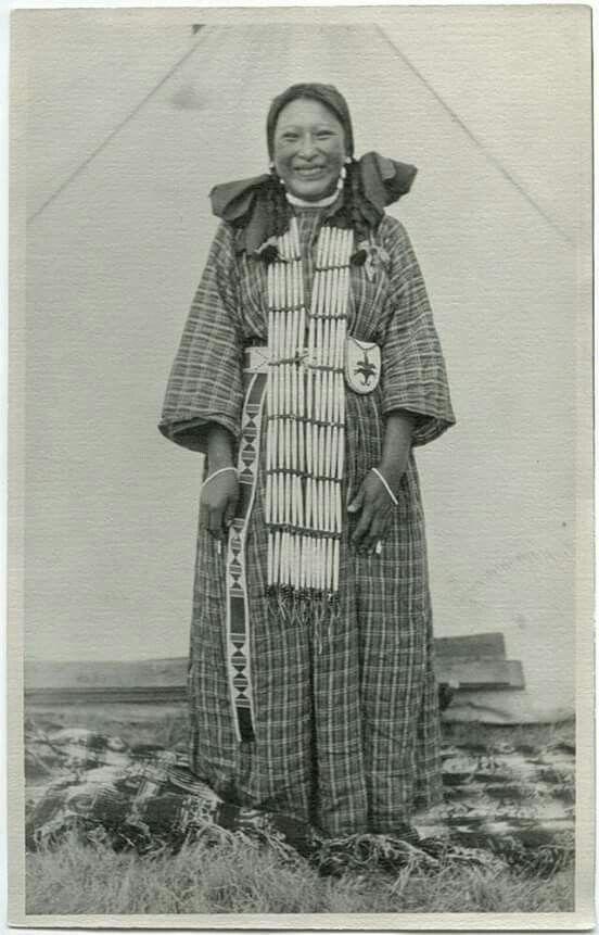 Elk Robe, 1900.