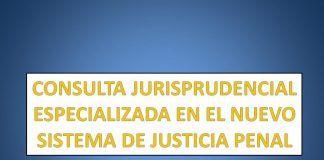 CONSULTA JURISPRUDENCIAL ESPECIALIZADA EN EL NUEVO SISTEMA DE JUSTICIA PENAL:
