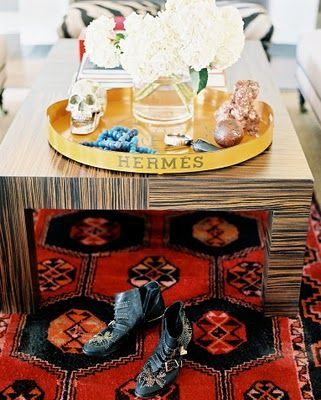 H tray: Trays, Decor, Coffee Tables, Interior, Living Rooms, Inspiration, Rugs, Design