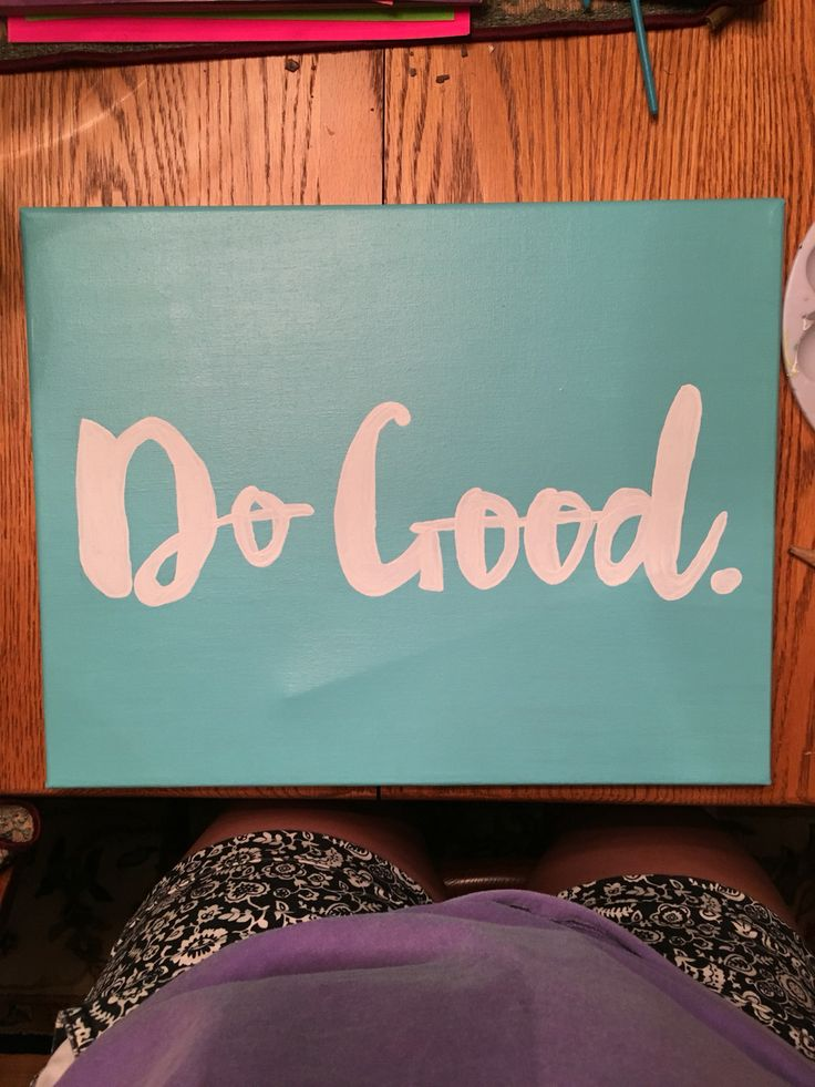 Iconic Delta Gamma Do Good canvas                                                                                                                                                      More