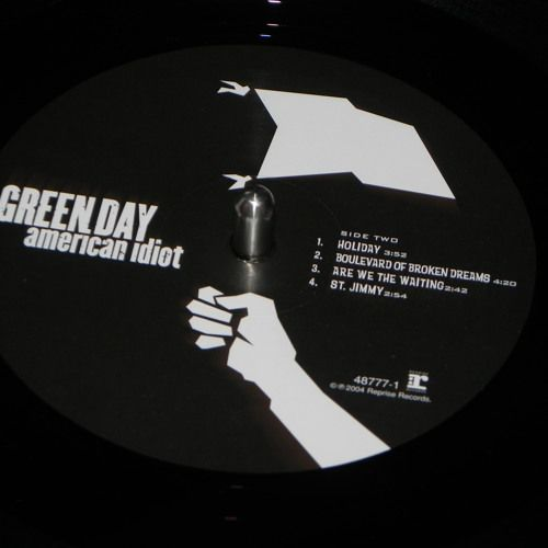 "2004 Green Day ""Boulevard of broken dreams"" Vinyl rip by Collin Codeïne on SoundCloud"
