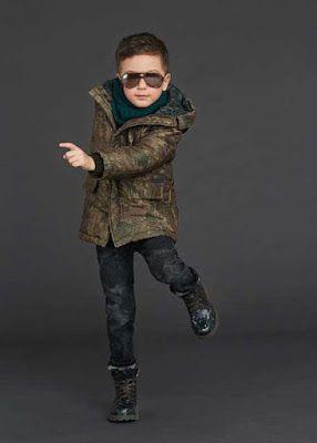 Dolce Gabbana 2016 kış erkek çocuk koleksiyonu