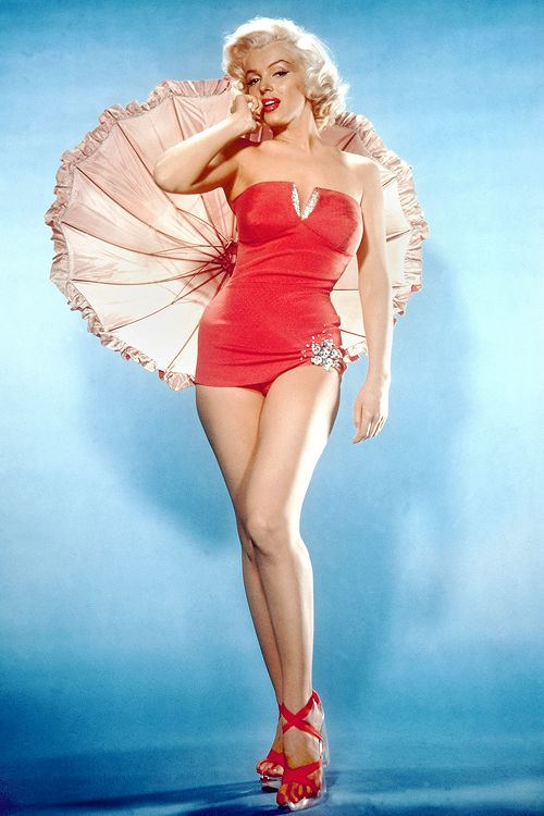 """Marilyn Monroe, publicity photo for """"How To Marry A Millionaire"""", 1953."""