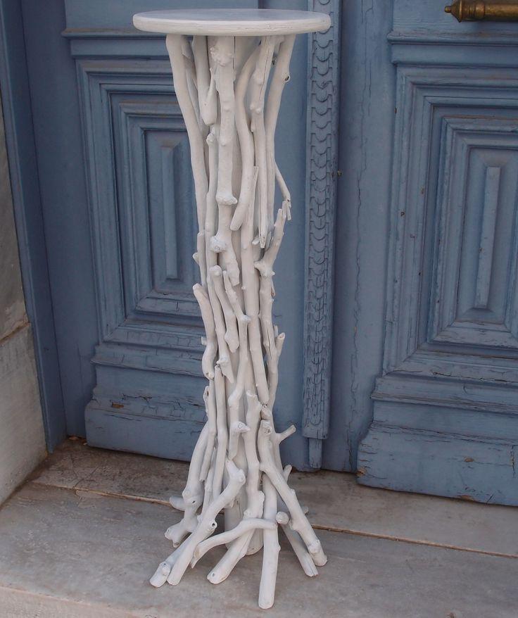 βάση λαμπάδας-ανθοστήλη από θαλασσοξυλα (ξύλα θαλάσσης)σε λευκό χρώμα (KRONOS 2) διάσταση 100cm. για παραγγελίες και σε όποια διάσταση θέλετε. τηλ.6976773699 ...Δεξίωση | Στολισμός Γάμου | Στολισμός Εκκλησίας | Διακόσμηση Βάπτισης | Στολισμός Βάπτισης | Γάμος σε Νησί - στην Παραλία.