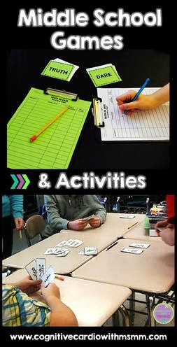 Looking for middle school math games and activities? Check out a few here!