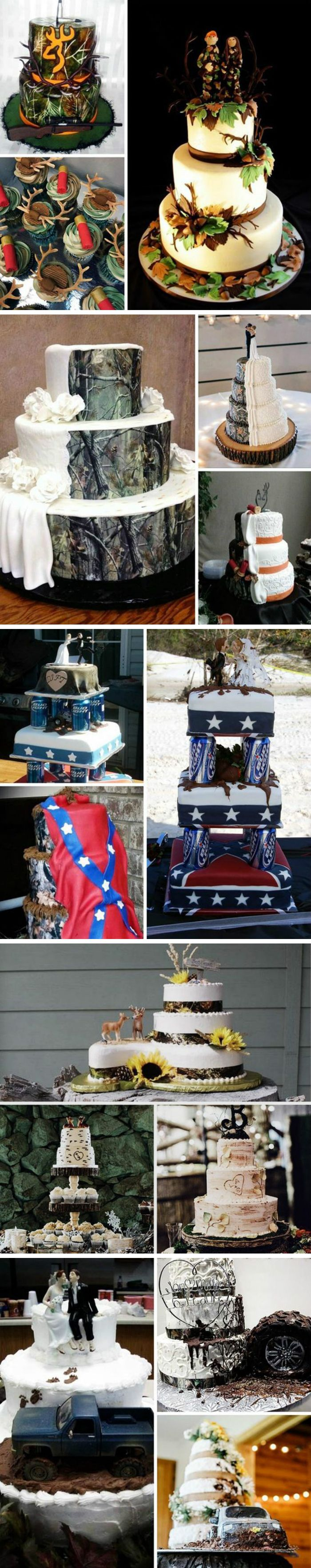 """5 Cake Themes for your Camo Wedding""                                                                                                                                                                                 More"