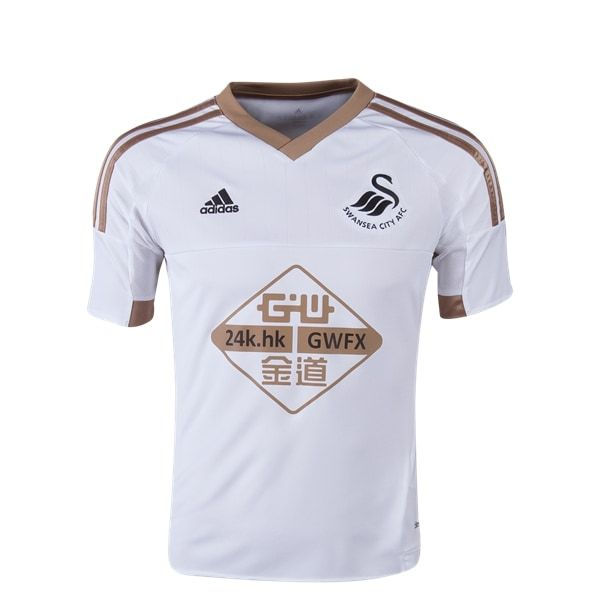 adidas Swansea City Youth Home Jersey 15/16