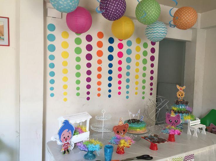 Plim plim, birthday Party ideas
