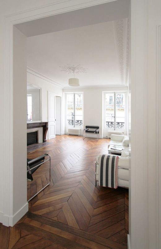 Chevron Hardwood Floors  http://connollys.com.au