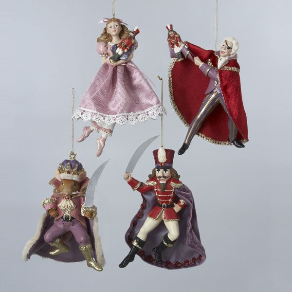 KSA Pack of 12 Christmas Traditions Nutcracker Suite Christmas Ornaments 7  | Basic Ballet Positions | Pinterest | Christmas Ornaments, Christmas and  ... - KSA Pack Of 12 Christmas Traditions Nutcracker Suite Christmas