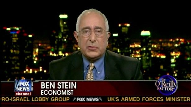 Ben Stein: Poor people are jealous, lazy drunks who don't appreciate indoor plumbing