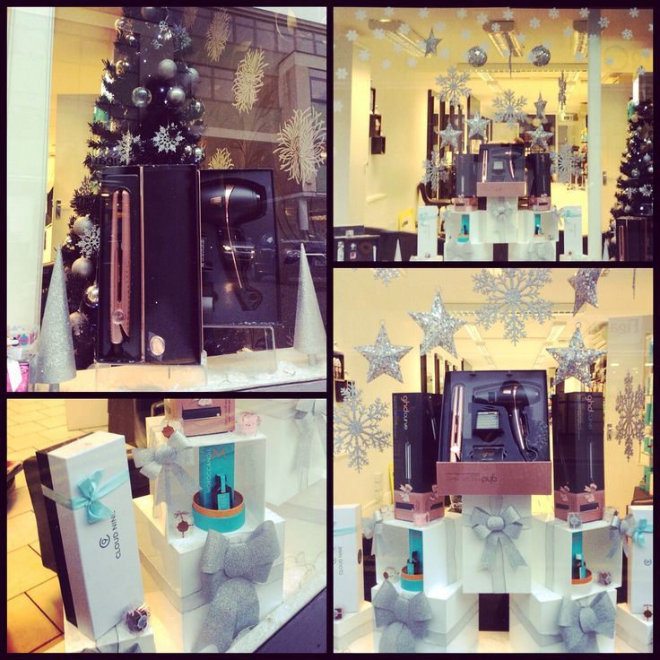 This Is Our Christmas Window For 2014 Letting It Snow With