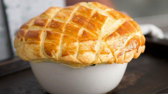 Puff pastry potato pie - RTÉ Lifestyle. A twist on the Irish potato pie