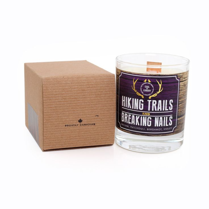 Hiking Trails and Breaking Nails Candle by Coal and Canary Candle Company