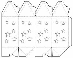 star lantern box BOXES TEMPLATES