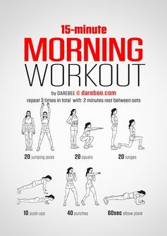 Morgen-Workout für schnelle Erfolge