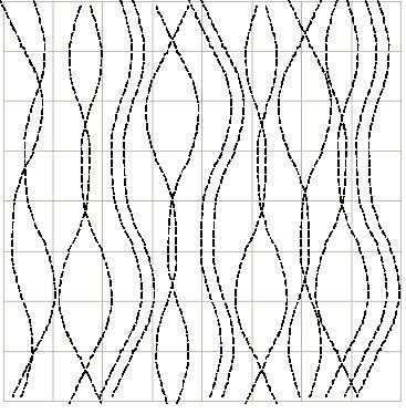 Curved Lines using a Walking Foot - Quilting                                                                                                                                                     More