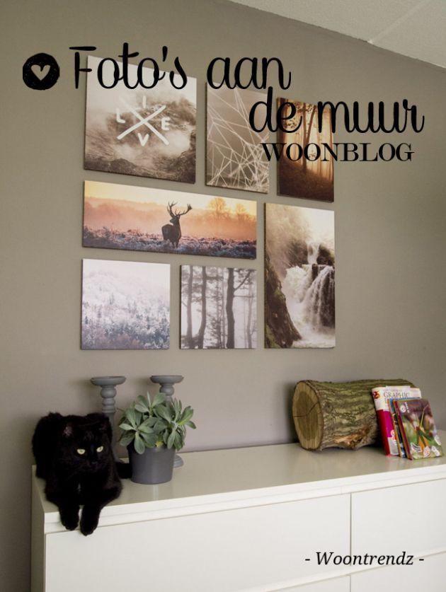 25 beste idee n over foto muren op pinterest fotowanden fotowand en familie kamer decoreren - Volwassen kamer ideeen ...