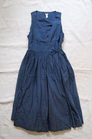 Dosa Dress Indigo 100% Cotton / Hand Dyed with Natural Indigo / available in: Indigo