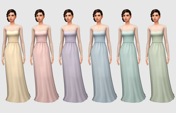 Simple Yet Elegant Wedding Dresses: Party Gowns And Dresses I Use Images