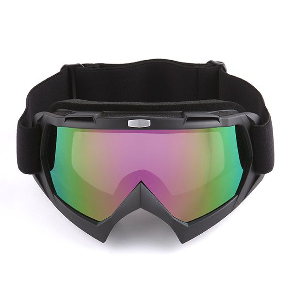 1storm Motocross Atv Dirt Bike Mx Bmx Goggle Matt Black Tinted Lens Dirt Bike Mx Bmx Motocross Blue Frames