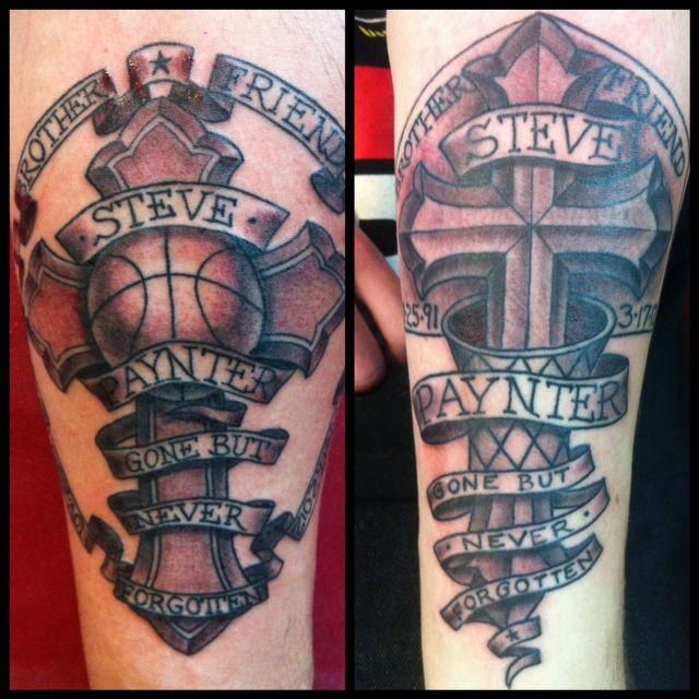 christian tattoos basketball