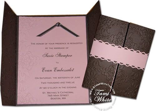 94 best wedding invitation ideas images on pinterest wedding wedding invitation samples are popular requests in the spring many brides to be love handmade invitations and favors for their big day it really adds the stopboris Image collections