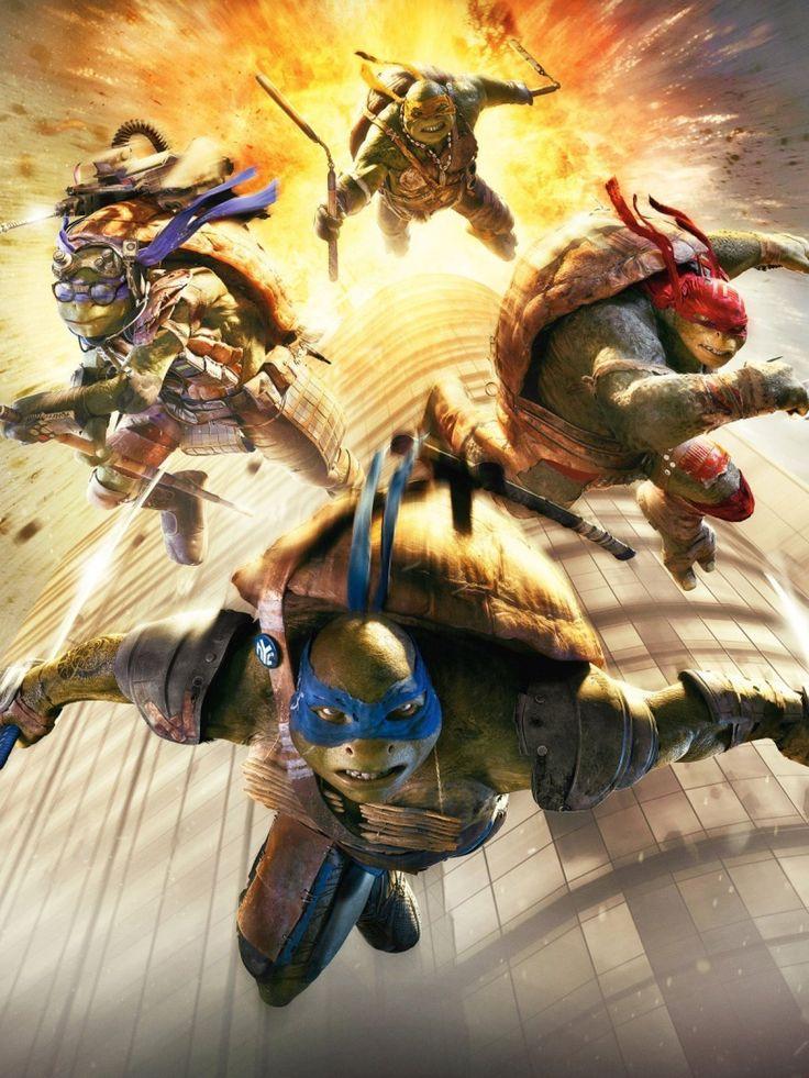 2014 Teenage Mutant Ninja Turtles Movie mobile wallpaper 2014 Teenage Mutant Nin...