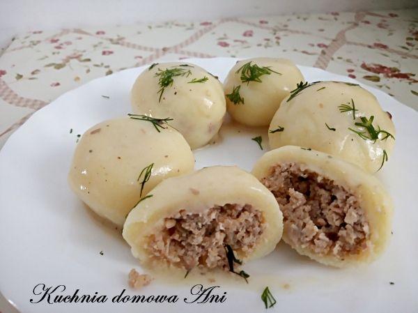 Kuchnia Domowa Ani Knedle Z Miesem Z Rosolu Food Recipes Tasting