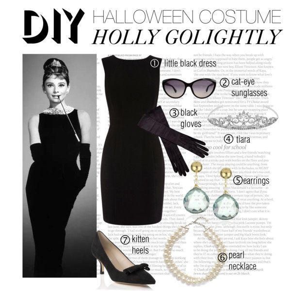 DIY Halloween Costume - Holly Golightly Breakfast at Tiffany's CLASSIC Audrey…