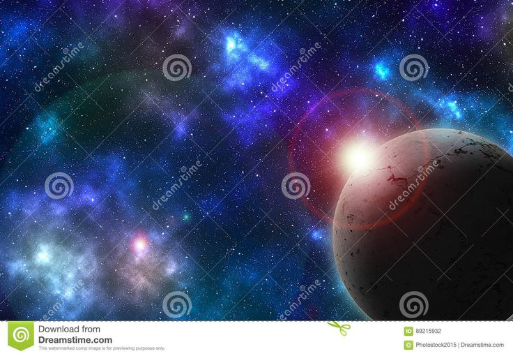 Textured Planet On Colored Sky - Download From Over 57 Million High Quality Stock Photos, Images, Vectors. Sign up for FREE today. Image: 89215932
