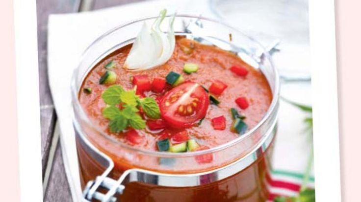 Heerlijk als gezond tussendoortje, als koude lunch opt werk, of als soepje bij de apero, op warme dagen! En vooral zonder toevoegingen en suiker!