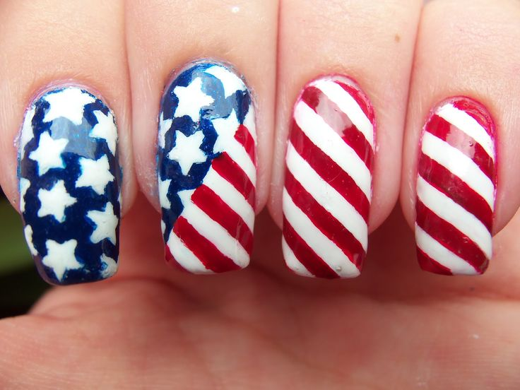 171 best images about nail art 4th of july and usa for 4th of july nail art decoration flag