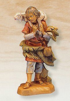 "Fontanini 5"" Gabriel with Lamb Christmas Nativity Figurine  #CollectibleFigurines"