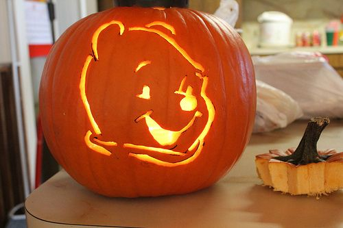 17 best images about halloween on pinterest pumpkins for Winnie the pooh pumpkin carving templates