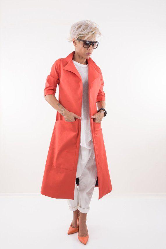 Trench Coat Women, Coat Women, Tail Coat, Kimono Jacket, Cape Femme, Kimono Cardigan, Plus Size Clot 2