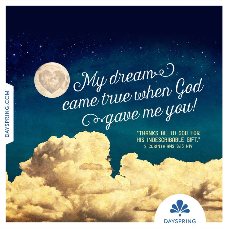 God Gave Me You Christian Wedding E Card.