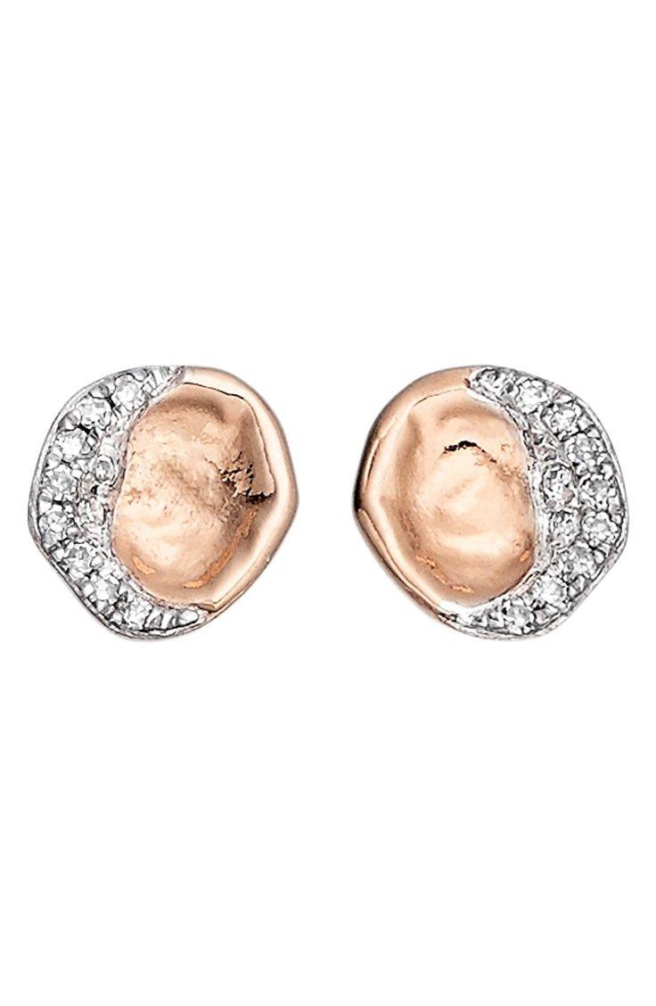 E.M. rose earring - Metallic Ggmr531zd