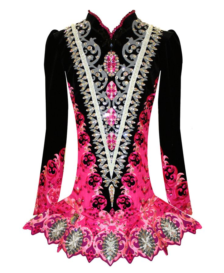 De 25 b sta id erna om irish dance dresses bara p for Elevation dress designs
