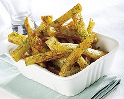 dill french fries (just add 2 tablespoons of dried dill)
