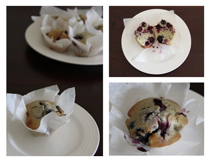 Blueberry Muffins :)