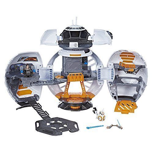 Star Wars Galactic Heroes BB-8 Adventure Base 4 Projectiles Christmas Toys Gift #Playskool