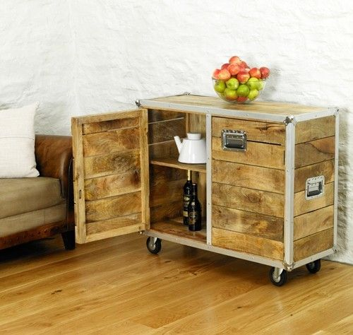 Roadie Chic Small Sideboard - IRC02B