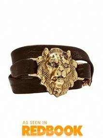 Lion Wrap Bracelet