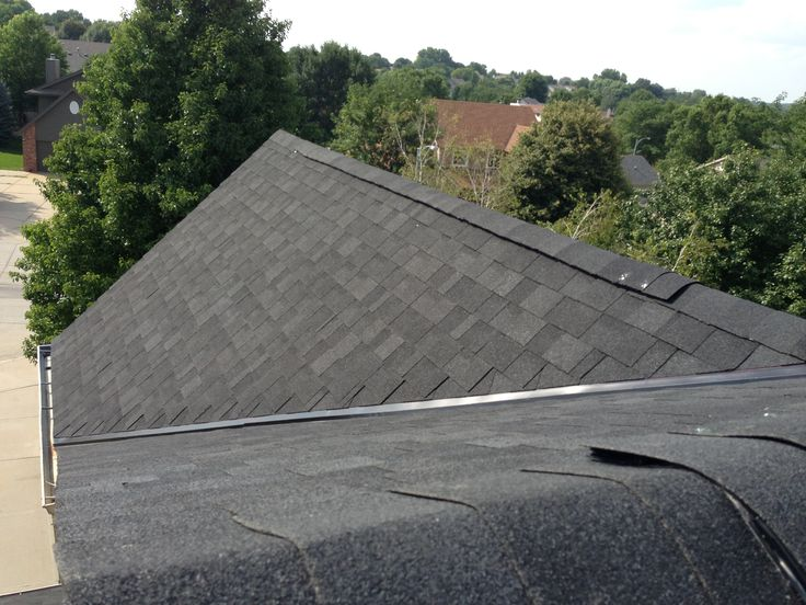 Best This Roof Has Had Iko Dual Black Shingles Installed Elite 400 x 300
