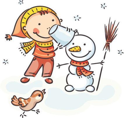Snowman Vector Art 165747531 | Getty Images