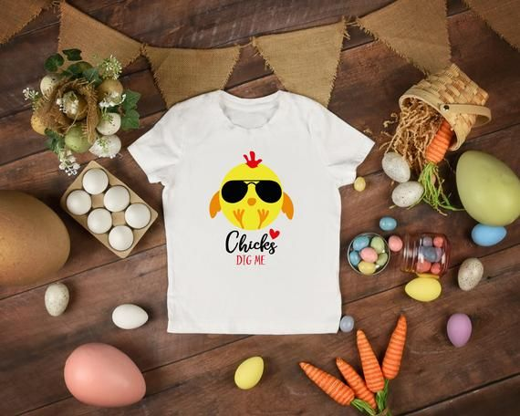 0f15fa778 Chicks Dig Me Youth T-shirt, Easter T-shirt in 2019 | Easter | Easter t  shirts, Shirts, Easter