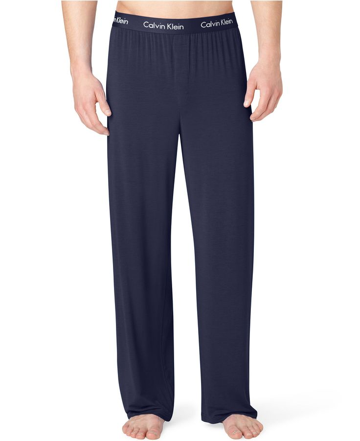 Calvin Klein Men's Sleepwear, Body Modal Pajama Pant U1143 - Pajamas, Robes & Slippers - Men - Macy's