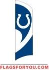 Colts Tall Team Flag 8.5' x 2.5'